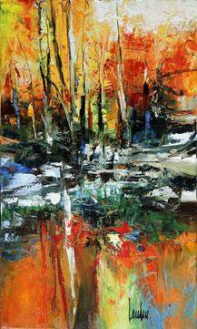 """""""L'appel de la forêt"""" - 50x30 - Disponible"""
