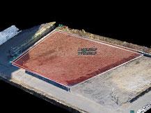 土量集計 3D解析 切土盛土 切盛
