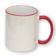 """Mug """"Rouge""""."""