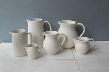 Krüge aus Keramik
