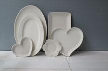 Platten aus Keramik