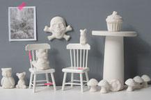 Kleinteile aus Keramik