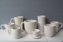 Tassen aus Keramik