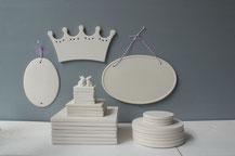 Fliese und Schilder aus Keramik