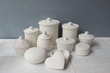 Dose aus Keramik