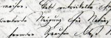 Detailaufnahme eines Briefes in Kurentschrift, einer Form der altdeutschen Schrift
