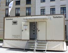 Wagen VII - Meisel Team |Toilettenwagen Vermietung