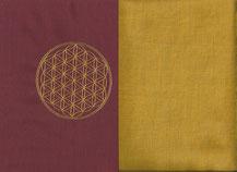 Kissen Blume des Lebens, Kräuterkissen, Meditationskissen