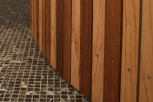 badkamer hout cederhout