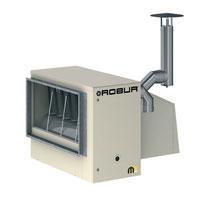 Газовый воздухонагреватель для наружной установки серия Mxt
