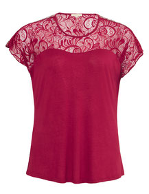 rotes T-Shirt in XXL Größen