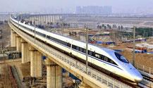 Uno degli avveniristici progetti cinesi in Tanzania. Il treno ad alta velocità completamente sopraelevato