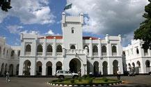 Il complesso della residenza presidenziale della Tanzania a Dar es Salaam