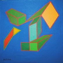Achille Perilli, 2003, collezione privata cm 20 x 20