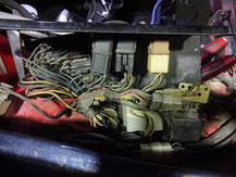 HGC211 スカイライン ジャパン エンジンルーム塗装