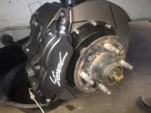 フェアレディ240Z ブレーキキャリパーローター交換