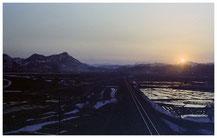 東京写真 トレイン 軌跡 釧路