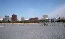 東京写真過ぎ去りし日々 皇居前広場