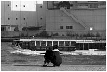 東京写真街角スナップ リバーサイドストーリー