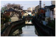 東京写真路地裏写真 水路