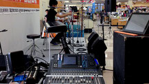 音響現場業務の様子1