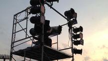 照明現場業務の様子3
