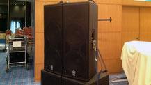 ホテル音響メインスピーカーセット