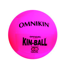 Ballon géant de Kin ball Omnikin. Ballon de kin-ball officiel de couleur rose Omnikin.