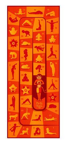 Tapis pédayoga. Matériel de Pédayoga ou yoga pédagogique pour enfants. Tapis de jeu de pedayoga enfants et scolaires à acheter pas cher.