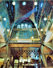 Дворец Гуэля внутри