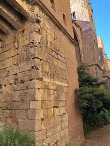 Римские стены Барсино