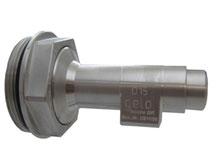 """Auslaufhahn für Stahlfass 2"""" D=15mm Edelstahl"""