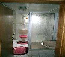 Kastnerhof Ferienwohnung 45 qm - Badezimmer