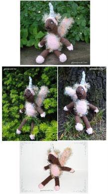Einhorn, eichhörnchen, squirrel, wald