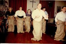 Paula (links) 1980, 55er Jahrgangsfeier
