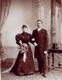Eugen und Maria Walburga Kunz (1894)