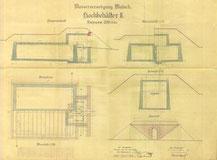 Plan vom 25.5.1926 Hochbehälter II