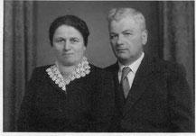 Albert und Balbina Kunz, 1950