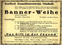 Presseankündigung im Mai 1933