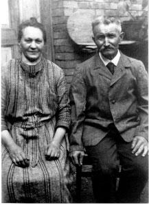 Die alten Lammwirte Florian und Frieda Hitscherich