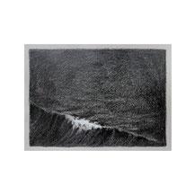 o.T., 10x15 cm, Graphit/Farbstift auf Tonpapier, 2018