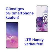 Günstiges 5G Smartphone kaufen - LTE Handy verkaufen