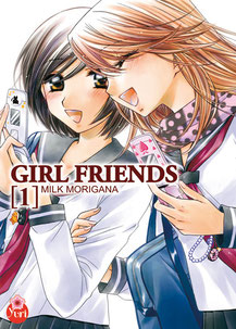 Manga de type Shôjo  et de genre Amour, Amitié et Yuri. Source: https://www.manga-news.com/index.php/serie/Girl-Friends