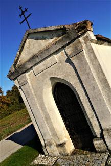 Die Marienkapelle zwischen Kleinkadolz und Enzersdorf wurde 1898 erbaut