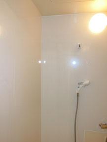 浴室パネル工事完了写真