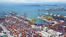 Infrastruktur Handel Sicherheitspolitik