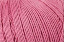 Coton Oeko-Tex rose pour bijoux au crochet