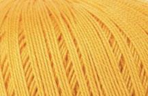 Coton Oeko-Tex jaune d'oeuf pour bijoux au crochet