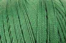 Coton Oeko-Tex vert foncé pour bijoux au crochet