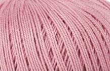 Coton Oeko-Tex rose moyen  pour bijoux au crochet